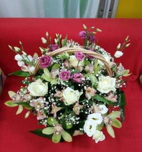 Цветы и шары в Кузьмолово