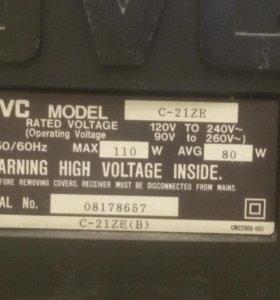 Телевизор JVC c-21ze