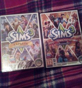 Линцензионные диски The sims3