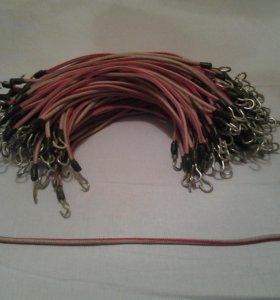 Резинки-стяжки с крючками