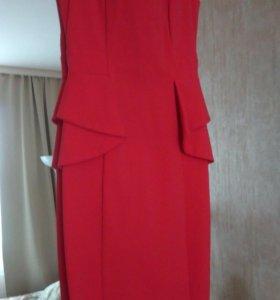 Платье коктельное миди