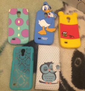 Чехлы на Samsung s4 mini