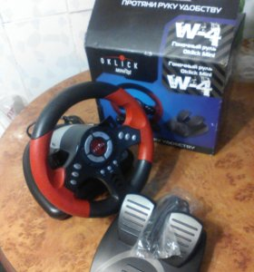 Гоночный руль Oklick Mini W4