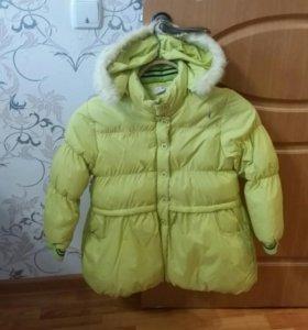 Детская зимняя курточка.