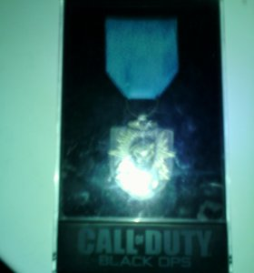 Коллекционная медаль call of duty black ops