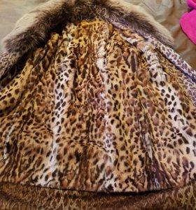 Зимняя куртка- шубка 2 в 1