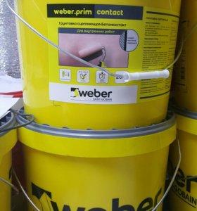 Бетоноконтакт Weber-Ветонит 20 кг