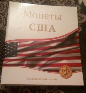 Альбом для монет США