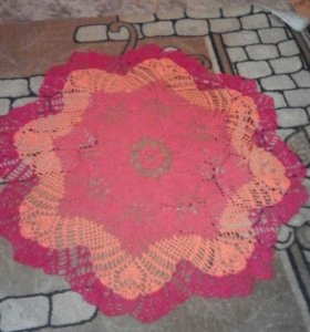 Кружевной коврик