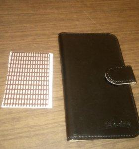 Чехол-книжка для смартфона 5.5 дюйм.