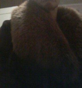 Шуба-мутон, женская размер 48-50, рост 175см