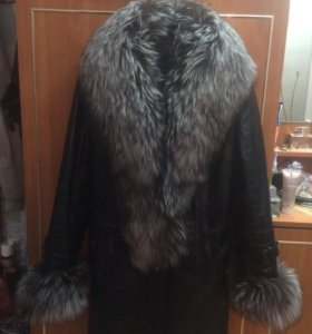 Кожаная куртка / пальто / дубленка