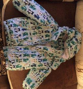 Детская зимняя куртка на ребёнка 2-3 года