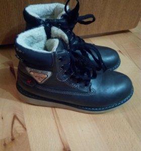 Ботинки размер-35