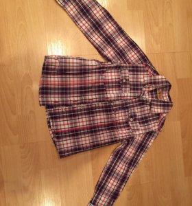 Рубашка девочке 128