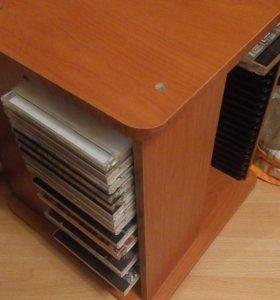 Подставка для дисков крутящаяся