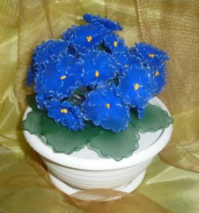 Цветы из капрона на заказ