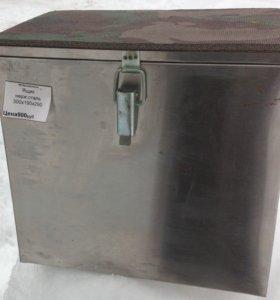 Рыбацкий ящик нержавеющая сталь 300/190/290