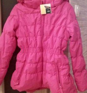 Детская куртка новая