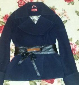 кашемировое укороченное пальто