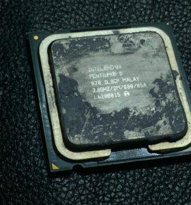 Процессор intel pentium D