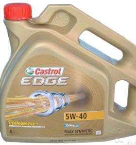 Castrol edge Titanium FST 5W40 синт. масло 4 л