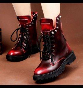 Ботинки женские демисезонные 👢