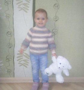 Детский свитер на 1,5_3 года