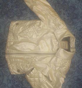 Куртка Next цвет Серебро рост 104 на 3-5 лет