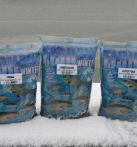 Прикормка зима