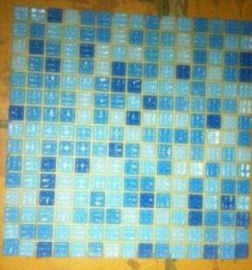 Стеклянная мозайка-плитка!!!