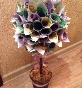 Топиарий, денежное дерево