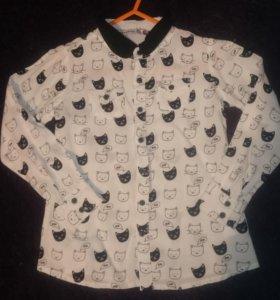 Рубашка reserved 110 см
