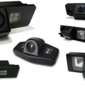 Камеры заднего и переднего вида