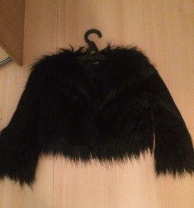 Куртка обмен или продажа (искусств мех)