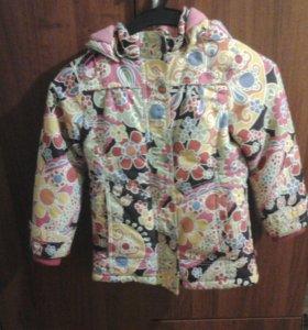 Куртка осенняя шикарная,  для девочки