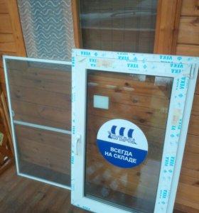 Стеклопакет,окно + москитная сетка