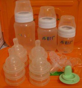 Бутылочки и соски Авент