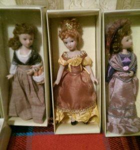 "Куклы ""Дамы эпохи""."
