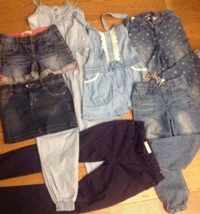 Джинсовые Брюки,юбки,комбинезоны,шорты