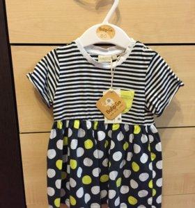 Детское платье на девочку baby go