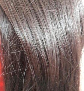 Волосы на заколках (искусственые).