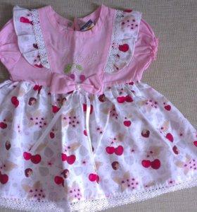 Платье на 2-3 месяца