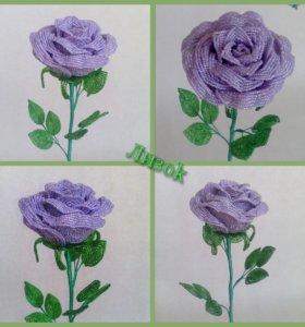 Роза. Ручная работа