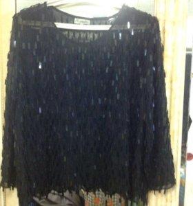 Блуза с пайетками