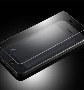 Защитное стекло на iPhone 5, 6