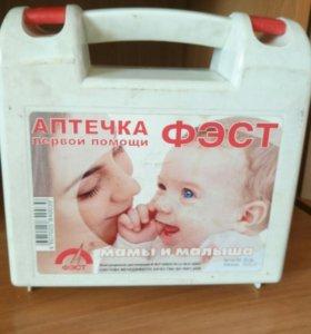 Пустая аптечка матери и ребёнка