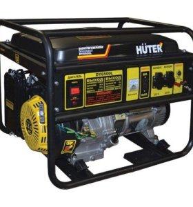 Бензиновый генератор Huter DY6500L 5,5 кВт