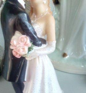 Фигурка на свадебный торт 89300874110!