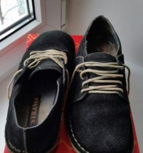 Ботинки нат замша